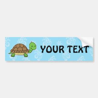 Pegatina para el parachoques de la tortuga pegatina para auto