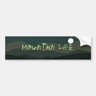 Pegatina para el parachoques de la vida de la mont pegatina para auto