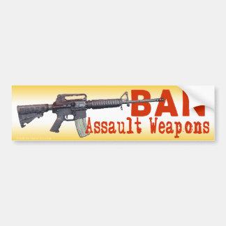 Pegatina para el parachoques de las armas de asalt pegatina para auto
