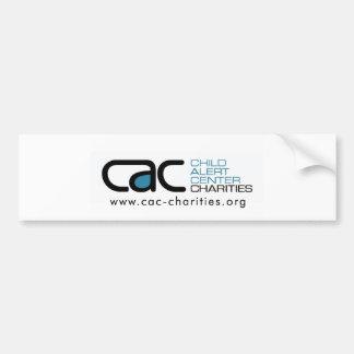 Pegatina para el parachoques de las CAC-Caridades Pegatina Para Auto