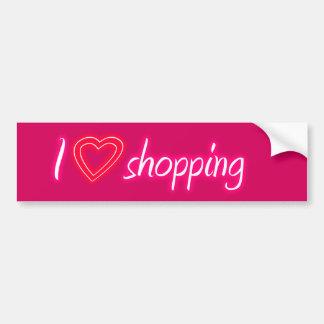 Pegatina para el parachoques de las compras del am etiqueta de parachoque