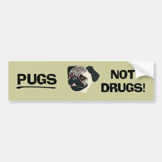 Pegatina para el parachoques de las drogas de los  etiqueta de parachoque