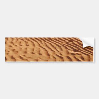 Pegatina para el parachoques de las dunas de arena etiqueta de parachoque