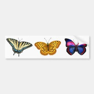 Pegatina para el parachoques de las mariposas pegatina para auto