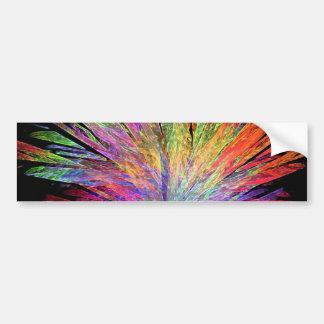 Pegatina para el parachoques de las plumas pegatina para auto