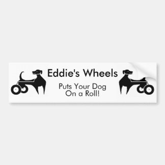 Pegatina para el parachoques de las ruedas de Eddi Pegatina Para Auto
