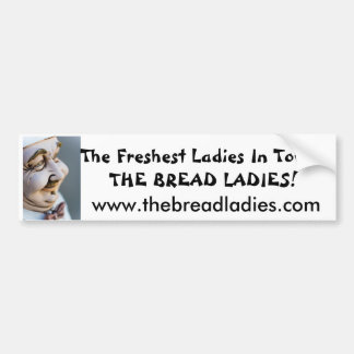 pegatina para el parachoques de las señoras del pa etiqueta de parachoque