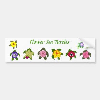 Pegatina para el parachoques de las tortugas de ma pegatina de parachoque