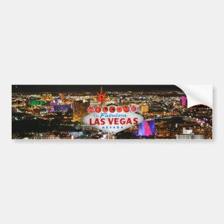 Pegatina para el parachoques de Las Vegas Pegatina Para Auto