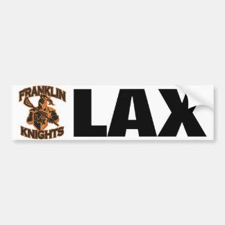 Pegatina para el parachoques de LAX de los caballe Pegatina Para Auto