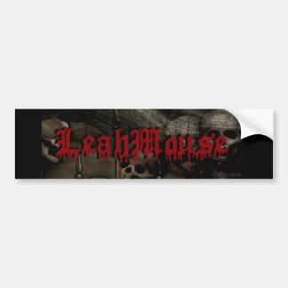 Pegatina para el parachoques de LeahMouse Etiqueta De Parachoque