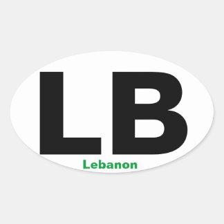 Pegatina para el parachoques de Lebanon*