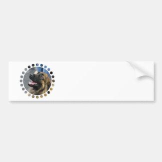 Pegatina para el parachoques de Leonberger Pegatina Para Auto