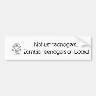 Pegatina para el parachoques de los adolescentes d pegatina para auto
