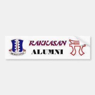 Pegatina para el parachoques de los alumnos de RAK Pegatina De Parachoque
