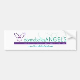 Pegatina para el parachoques de los ángeles de Don Etiqueta De Parachoque