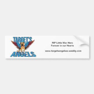 Pegatina para el parachoques de los ángeles de la  pegatina de parachoque