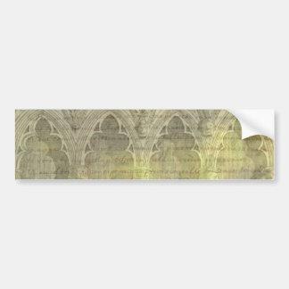 Pegatina para el parachoques de los arcos etiqueta de parachoque