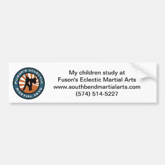 Pegatina para el parachoques de los artes marciale pegatina para auto