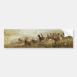 Pegatina para el parachoques de los búfalos de ind pegatina para auto