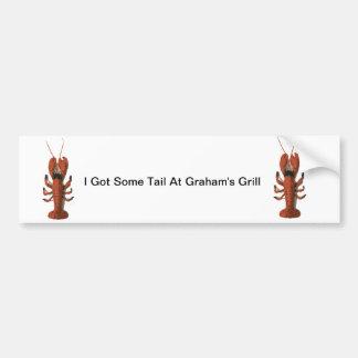 Pegatina para el parachoques de los cangrejos de l pegatina para auto
