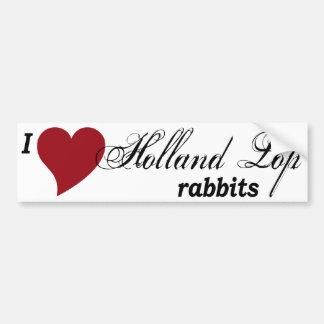 Pegatina para el parachoques de los conejos de pegatina para coche