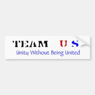 Pegatina para el parachoques de los E.E.U.U. del E Pegatina De Parachoque