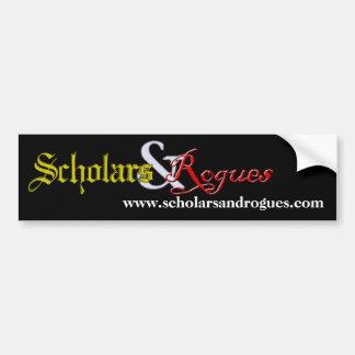 Pegatina para el parachoques de los escolares y de etiqueta de parachoque