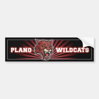 Pegatina para el parachoques de los gatos monteses etiqueta de parachoque