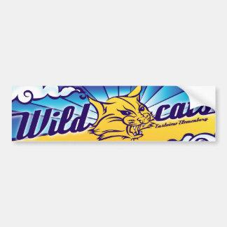 Pegatina para el parachoques de los gatos monteses pegatina de parachoque