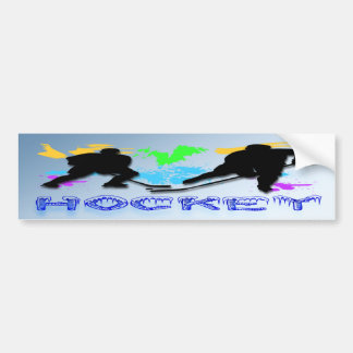 Pegatina para el parachoques de los jugadores de h pegatina para auto