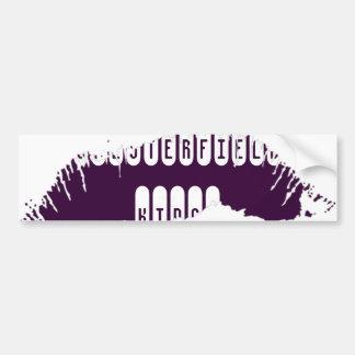 Pegatina para el parachoques de los labios etiqueta de parachoque
