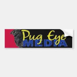 Pegatina para el parachoques de los medios del ojo pegatina para auto