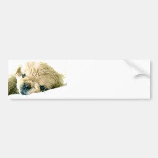 Pegatina para el parachoques de los perritos de Pe Pegatina Para Auto