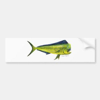 Pegatina para el parachoques de los pescados de Ma Pegatina De Parachoque