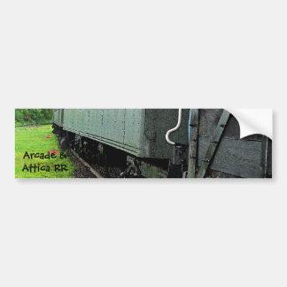 Pegatina para el parachoques de los Railcars del v Pegatina Para Auto