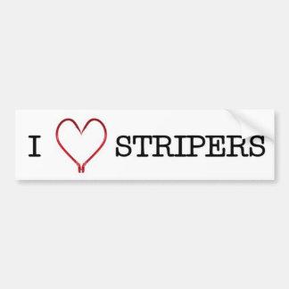 Pegatina para el parachoques de los Stripers I [de Pegatina Para Auto