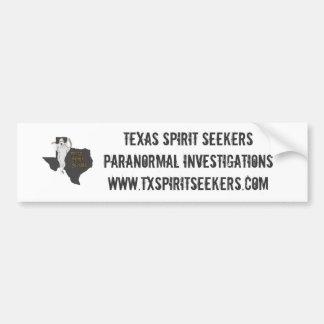 Pegatina para el parachoques de los TSS Pegatina Para Auto