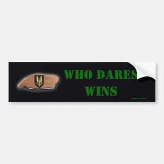 pegatina para el parachoques de los veteranos del  pegatina para auto