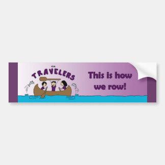 Pegatina para el parachoques de los viajeros etiqueta de parachoque
