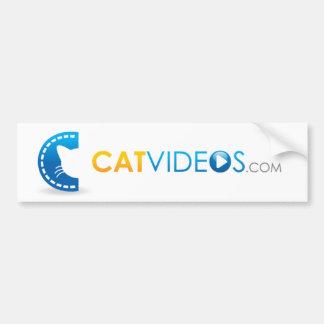 Pegatina para el parachoques de los vídeos del gat pegatina para auto