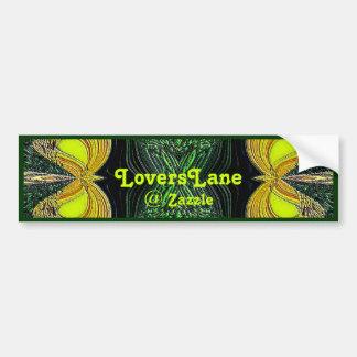 Pegatina para el parachoques de LoversLane de la a Pegatina Para Auto