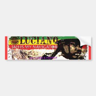 Pegatina para el parachoques de Luciano JMN Etiqueta De Parachoque