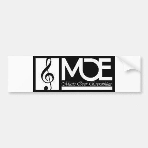 Pegatina para el parachoques de M.O.E Etiqueta De Parachoque