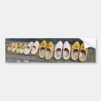 Pegatina para el parachoques de madera holandesa d etiqueta de parachoque