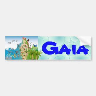 Pegatina para el parachoques de mamá Gaia Etiqueta De Parachoque