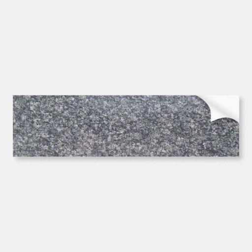 Pegatina para el parachoques de mármol negra del f etiqueta de parachoque