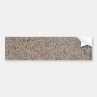 Pegatina para el parachoques de mármol oxidada del etiqueta de parachoque