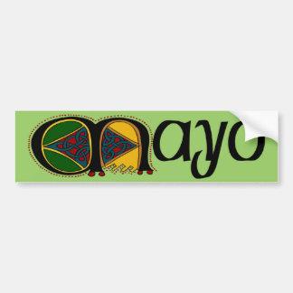 Pegatina para el parachoques de Mayo del condado Pegatina Para Auto
