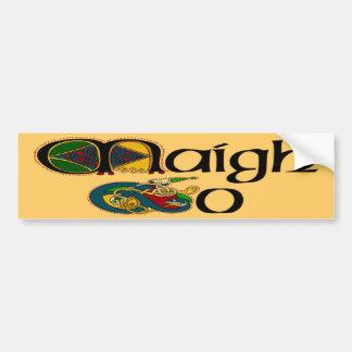 Pegatina para el parachoques de Mayo (gaélico) Pegatina Para Auto